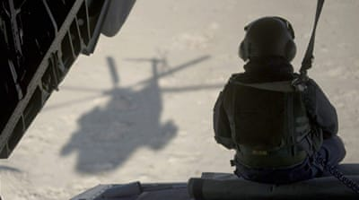 Taliban claims US helicopter attack