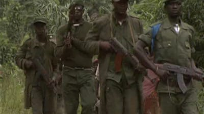 DR Congo army accused of mass rapes