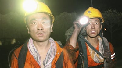 Deaths in China coal mine accident