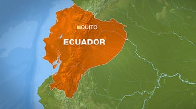 Miners trapped in Ecuador cave-in