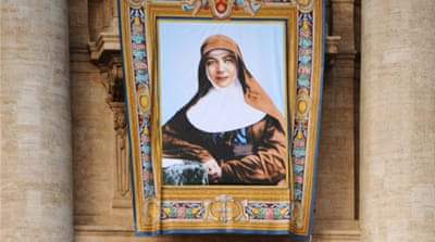 Nun becomes first Australian saint