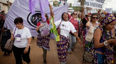 DR Congo women march against rape