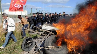 French strike hits fuel supplies
