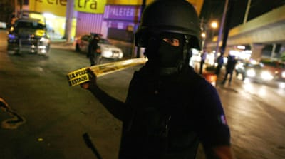 US-trained cartel terrorises Mexico