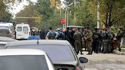 Deaths in Chechen parliament attack