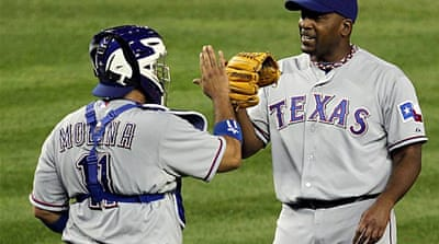 Rangers close to finishing Yankees