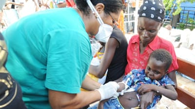 Haiti scrambles to contain cholera