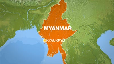 Powerful cyclone hits Myanmar
