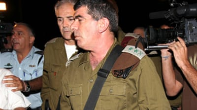 Israeli army chief back at inquiry
