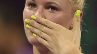 Wozniacki living the dream in Doha