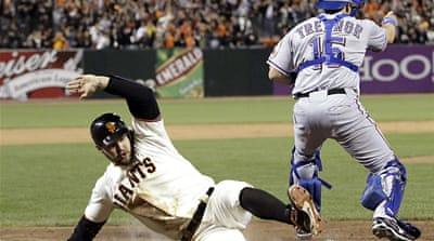 Texas Rangers humiliated by Giants