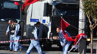 Suicide blast hits Istanbul