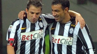 Del Piero breaks scoring record
