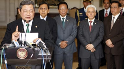 No arrest warrant against Yudhoyono