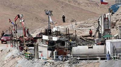 Chile miners rescue 'imminent'