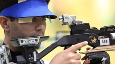 Shooters win first gold for India
