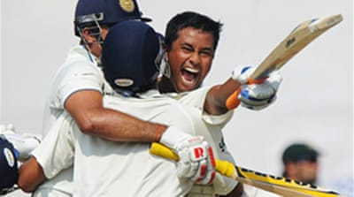 Laxman leads India to thrilling win