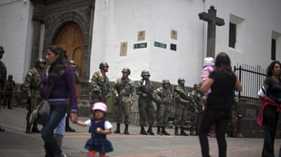 Ecuador extends emergency rule
