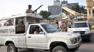 Unrest after Karachi shrine attack