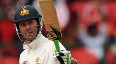 Patient Ponting lays foundation