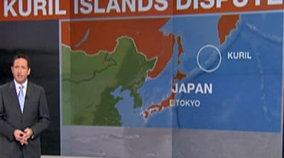 Dispute over Kuril Islands