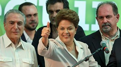 Rousseff wins Brazil election