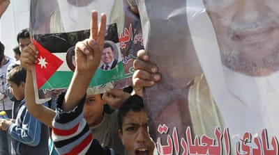 Jordan loyalists sweep election