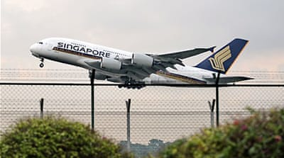 Singapore Airlines changes engines