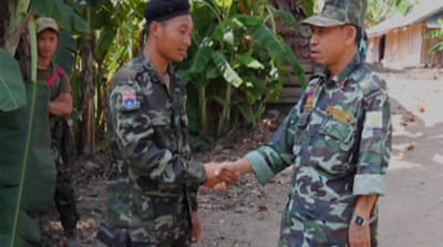 Myanmar rebel forces unite