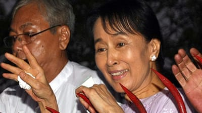 Myanmar's Aung San Suu Kyi released