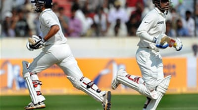 India dominate day two