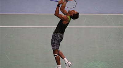 Monfils edges Federer in thriller
