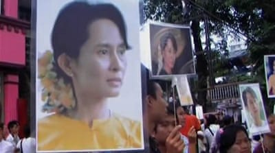 Myanmar's democratic icon