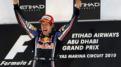 Vettel crowned F1 champion