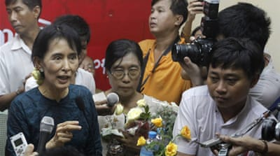 Suu Kyi defends election boycott