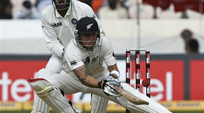 McCullum helps draw Hyderabad Test