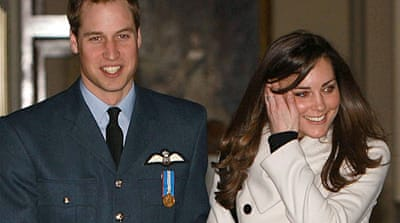 Britain's Prince William to marry