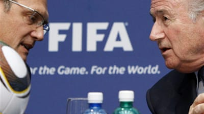 Fifa suspends officials after probe