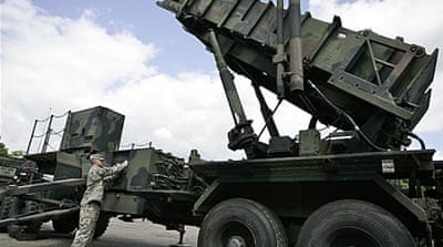 Turkey wary of Nato missile shield