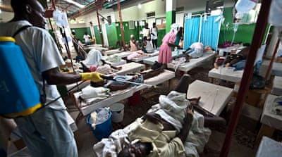 Haiti's cholera 'from South Asia'