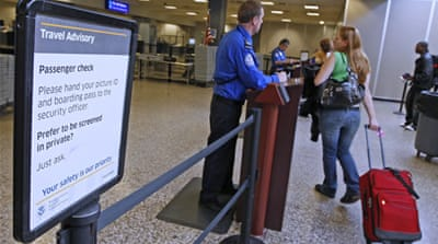 US pilots spared new checks