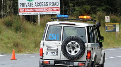 Dozens trapped after NZ mine blast