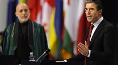 Nato endorses Afghan exit strategy