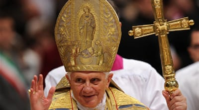 Pope softens stand on condoms