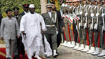 Gambia severs ties with Iran