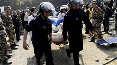China rescues trapped coal miners