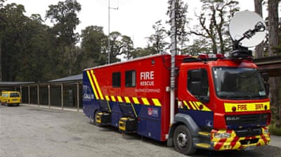 N Zealand mine rescue hopes dim