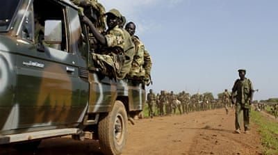 South Sudan army kills fighters in clashes