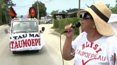 Tongans vote in historic polls