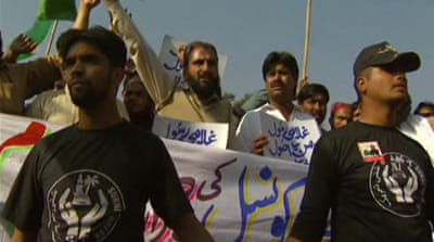 Sufis march against Taliban